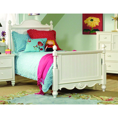 Buy Legacy Classic Kids Summer Breeze Scroll Top Low Poster Bed on sale online