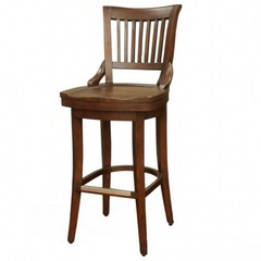 Buy American Heritage Liberty 26 Inch Counter Height Stool in Suede on sale online