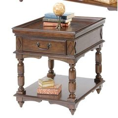 Buy Liberty Furniture 495 Occasional 27x23 Rectangular End Table in Cherry, Medium Wood on sale online