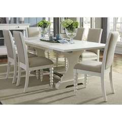 Buy Liberty Furniture Harbor View II 7 Piece 94x42 Rectangular Trestle Dining Room Set on sale online