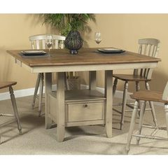 Buy Liberty Furniture Al Fresco 54x54 Square Counter Height Table in Light Wood, Antique on sale online