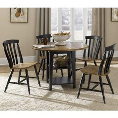 Buy Liberty Furniture Al Fresco II 5 Piece 42x42 Round Drop Leaf Leg Dining Room Set on sale online
