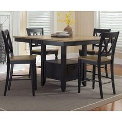 Buy Liberty Furniture Al Fresco II 5 Piece 54x54 Square Counter Height Set on sale online