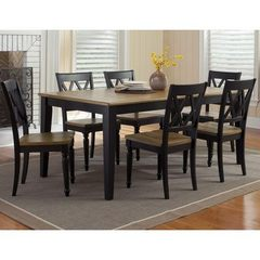 Buy Liberty Furniture Al Fresco II 7 Piece 56x40 Rectangular Leg Dining Room Set on sale online
