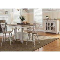 Buy Liberty Furniture Al Fresco III 6 Piece 54x54 Square Gathering Counter Height Set on sale online