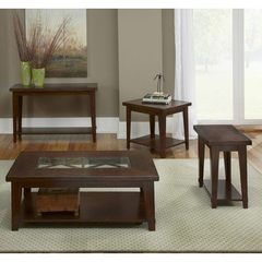 Buy Liberty Furniture Alamosa 4 Piece 48x28 Occasional Table Set in Cherry on sale online