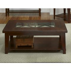 Buy Liberty Furniture Alamosa 48x28 Rectangular Cocktail Table in Cherry on sale online