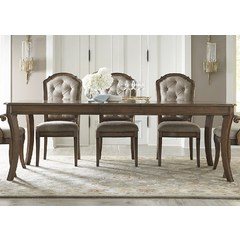 Buy Liberty Furniture Amelia Dining 90x42 Rectangular Leg Table on sale online