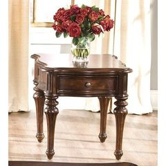 Buy Liberty Furniture Andalusia 28x24 Rectangular End Table in Cherry on sale online