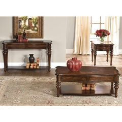 Buy Liberty Furniture Andalusia 3 Piece 50x30 Occasional Table Set in Cherry on sale online