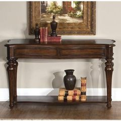 Buy Liberty Furniture Andalusia 50x18 Rectangular Sofa Table in Cherry on sale online