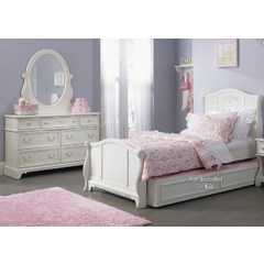 Buy Liberty Furniture Arielle 2 Piece Kids Sleigh Bedroom Set on sale online