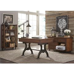 Buy Liberty Furniture Arlington House 3 Piece 56x30 Writing Desk Set on sale online