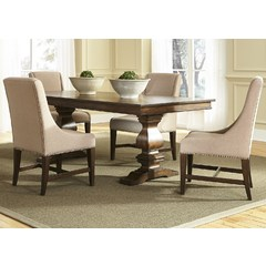 Buy Liberty Furniture Armand Dining 5 Piece 106x42 Dining Table Set on sale online