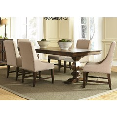 Buy Liberty Furniture Armand Dining 7 Piece 106x42 Dining Table Set on sale online