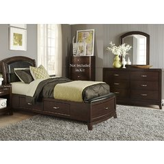 Buy Liberty Furniture Avalon 2 Piece One Sided Storage Bedroom Set on sale online