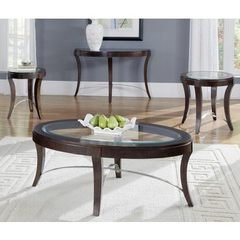 Buy Liberty Furniture Avalon 4 Piece 48x28 Occasional Table Set in Dark Wood on sale online