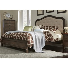 Buy Liberty Furniture Berkley Heights Upholstered Bed w/ Footboard on sale online