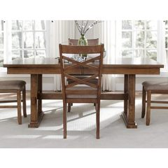 Buy Liberty Furniture Bistro 72x40 Trestle Dining Table on sale online