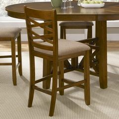 Buy Liberty Furniture Bistro Double X-Back Counter Height Stool on sale online