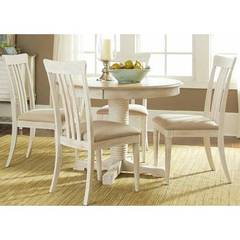 Buy Liberty Furniture Bluff Cove II 5 Piece 60x42 Oval Pedestal Dining Room Set on sale online