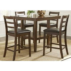 Buy Liberty Furniture Bradshaw 5 Piece 40x40 Square Table Set on sale online