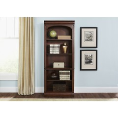 Buy Liberty Furniture Brayton Manor 76 Inch Executive Open Bookcase on sale online
