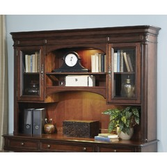 Buy Liberty Furniture Brayton Manor Executive Credenza Hutch on sale online