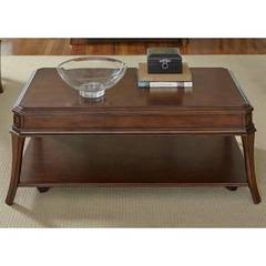 Buy Liberty Furniture Brighton Park 48x28 Rectangular Cocktail Table on sale online