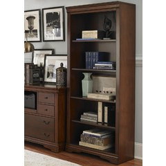 Buy Liberty Furniture Brookview 72 Inch Open Bookcase on sale online