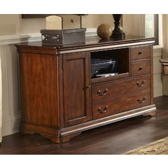 Buy Liberty Furniture Brookview Credenza in Rustic Cherry on sale online