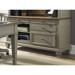 Buy Liberty Furniture Bungalow Jr Executive Credenza on sale online