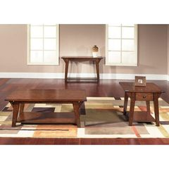 Buy Liberty Furniture Cabin Fever 3 Piece 48x28 Occasional Table Set in Brown on sale online