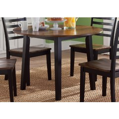 Buy Liberty Furniture Cafe Dining 42x42 Round Fixed Top Table on sale online
