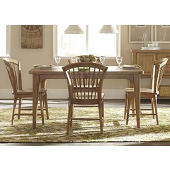 Buy Liberty Furniture Candler Dining 5 Piece 78x40 Dining Room Set on sale online
