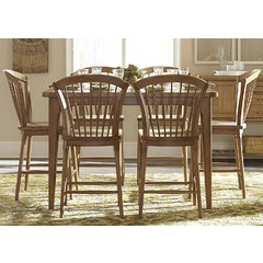 Buy Liberty Furniture Candler Dining 7 Piece 54x54 Square Table Set on sale online