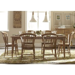 Buy Liberty Furniture Candler Dining 7 Piece 78x40 Dining Room Set on sale online