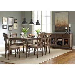 Buy Liberty Furniture Candlewood 8 Piece 72x40 Rectangular Room Set on sale online