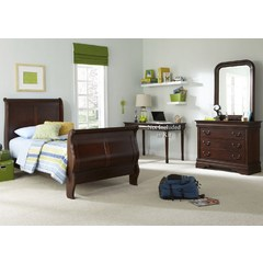 Buy Liberty Furniture Carriage Court 2 Piece Kids Sleigh Bedroom Set on sale online