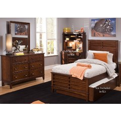 Buy Liberty Furniture Chelsea Square 2 Piece Kids Panel Bedroom Set on sale online