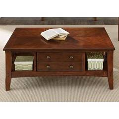 Buy Liberty Furniture Cherryview 48x30 Rectangular Drawer Cocktail Table on sale online