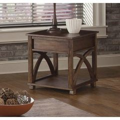 Buy Liberty Furniture Chesapeake Bay 26x16 Rectangular Chairside Table in Oak on sale online