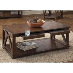 Buy Liberty Furniture Chesapeake Bay 46x26 Rectangular Cocktail Table in Oak on sale online