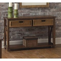 Buy Liberty Furniture Chesapeake Bay 48x17 Rectangular Sofa Table in Oak on sale online