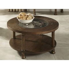 Buy Liberty Furniture Clockworks 36 Inch Round Cocktail Table in Antique Coffee on sale online