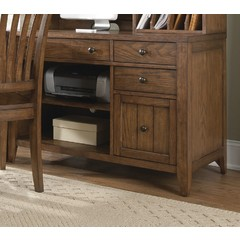 Buy Liberty Furniture Hearthstone Computer Credenza in Rustic Oak on sale online