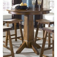 Buy Liberty Furniture Creations II 36x36 Round Pub Table in Tobacco on sale online
