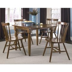 Buy Liberty Furniture Creations II 5 Piece 50x36 Dining Room Set in Tobacco on sale online