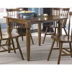 Buy Liberty Furniture Creations II 50x36 Rectangular Dining Table in Tobacco on sale online