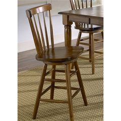 Buy Liberty Furniture Creations II Traditional 24 Inch Copenhagen Counter Height Stool in Tobacco on sale online
